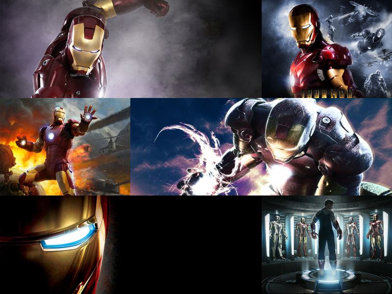 Iron Man Windows Theme