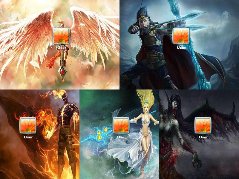 League Of Legends Logon Screen