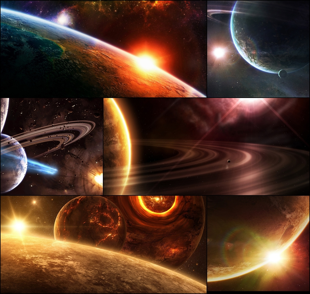 Planet universe windows theme download