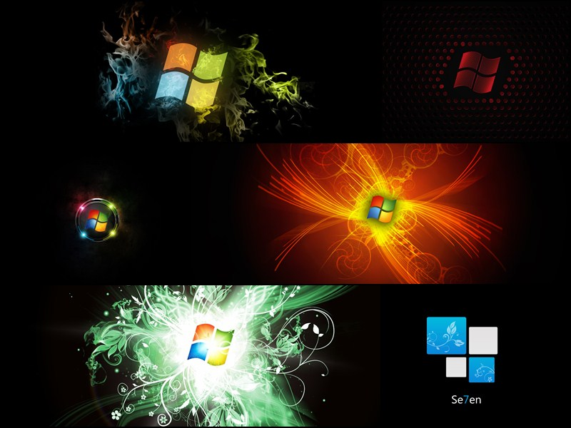 Windows 7 Black Windows Theme