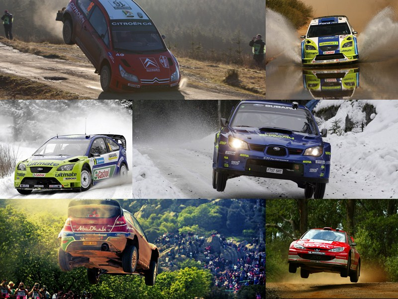 World Rally Championship Windows Theme