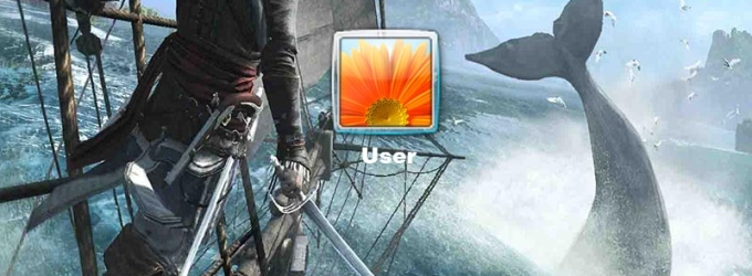 Assassin's Creed Black Flag Logon Screen