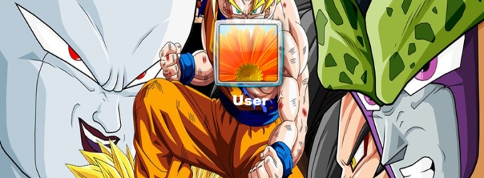 Dragon Ball Z Logon Screen