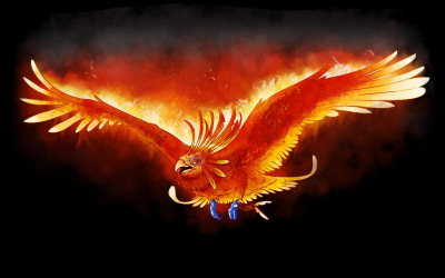 Fire Phoenix Windows Theme