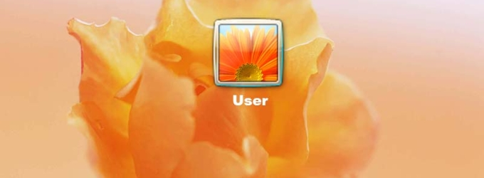 Flowers Logon Screen