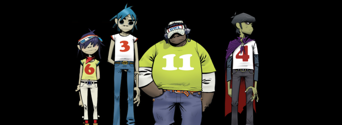 Gorillaz Windows Theme