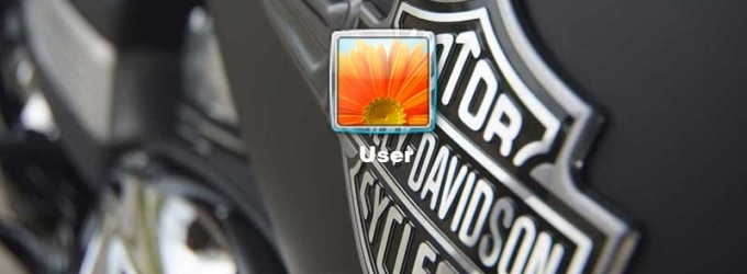 Harley-Davidson Logon Screen