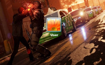 Infamous Second Son Logon Screen