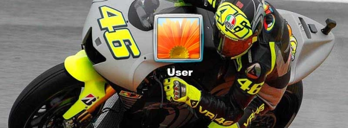 Moto GP Logon Screen