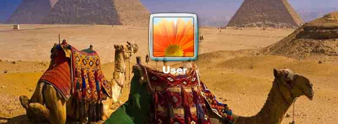 Mysterious Egypt Logon Screen