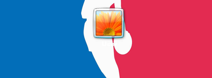 NBA Logon Screen
