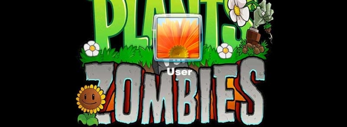 Plants vs Zombies Logon Screen