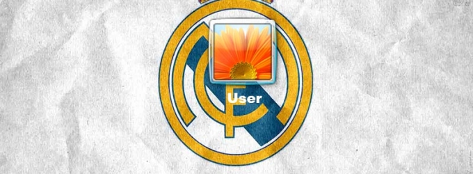 Real Madrid Logon Screen